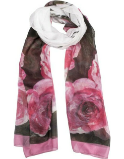 Dents Women's Rose Voile Scarf In Blush