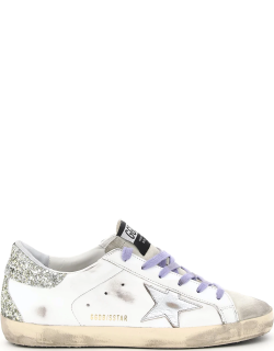 GOLDEN GOOSE SUPERSTAR CLASSIC LEATHER SNEAKERS 38 White Leather