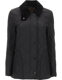 BURBERRY COTSWOLD QUILTED COUNTRY JACKET XS Black Technical