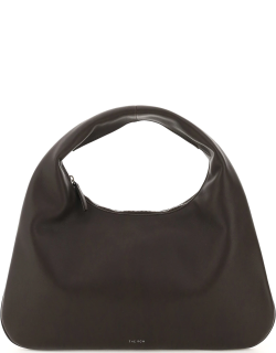 THE ROW EVERYDAY SMALL LEATHER HOBO BAG OS Brown Leather