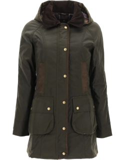 BARBOUR BOWER CLASSIC JACKET 8 Brown Technical