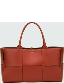 Arco Woven East-West Tote Bag