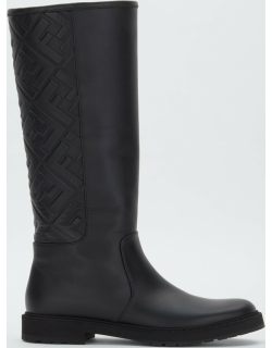 FF Leather Tall Riding Boots