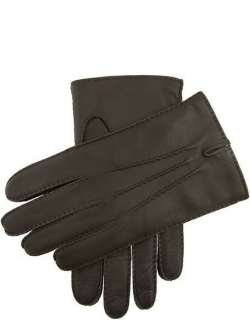 Dents Men's Cashmere Lined Handsewn Leather Gloves In Brown