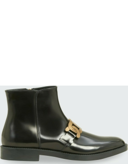 Kate Chain Zip Chelsea Boots