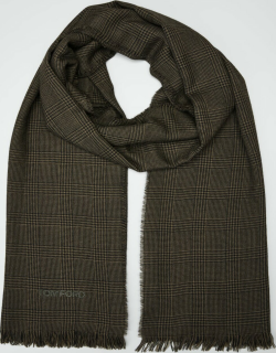 Men's Prince of Wales Jacquard Scarf