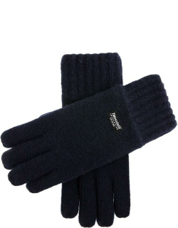 Dents Men's Thinsulate Lined Knitted Gloves In Navy