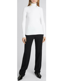 Compact Knit Turtleneck Sweater