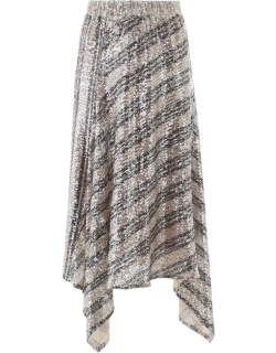 IN THE MOOD FOR LOVE LESIA SKIRT XS Silver, Black