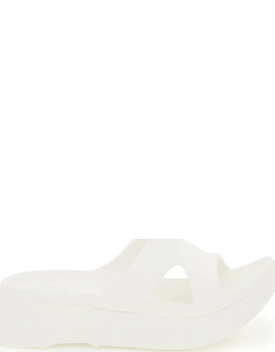 GIVENCHY MARSHMALLOW RUBBER MULES 40 White