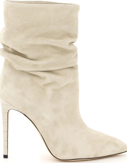 PARIS TEXAS SLOUCHY SUEDE BOOTS 38 Leather