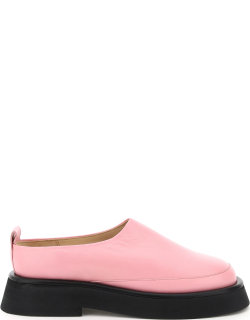 WANDLER ROSA LEATHER LOAFERS 38 Pink Leather