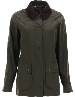 BARBOUR BEADNEL CLASSIC JACKET 10 Green Cotton