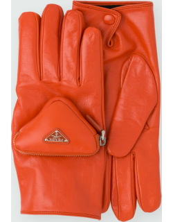Men's Fashion Show Leather Gloves With Pocket