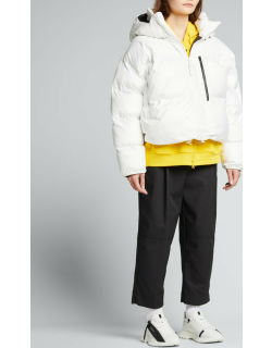Short Puffer Recycled Jacket