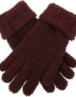 Dents Women's Soft Knitted Gloves In Claret