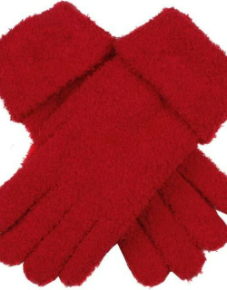 Dents Women's Soft Knitted Gloves In Berry