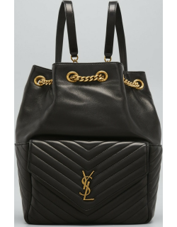 Quilted Lambskin YSL Backpack Bag