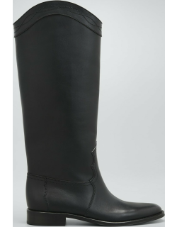 Godiva Leather Tall Riding Boots
