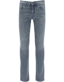ETRO JEANS WITH EMBROIDERED LOGO 31 Blue Cotton