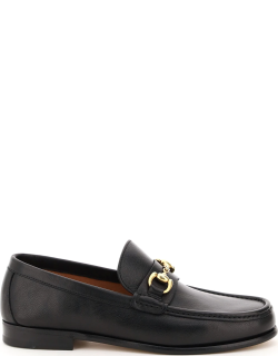 HENDERSON ORFEO LEATHER LOAFERS 45 Black Leather