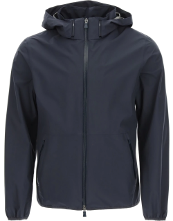 HERNO LAMINAR GORE-TEX HOODED JACKET 52 Blue Technical