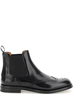 CHURCH'S KETSBY WG CHELSEA BOOT 39 Black Leather