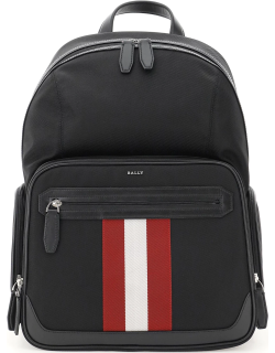 BALLY CHAPMAY BACKPACK OS Black, Red, White Technical