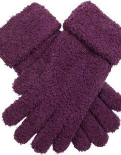Dents Women's Soft Knitted Gloves In Amethyst