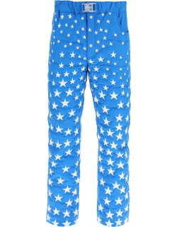 ERL STARS PADDED TROUSERS S Blue, White