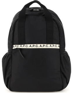 A.P.C. REPEAT NYLON BACKPACK OS Black Technical