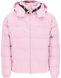 ALYX NYLON DOWN JACKET WITH ROLLERCOASTER BUCKLE S Pink Technical