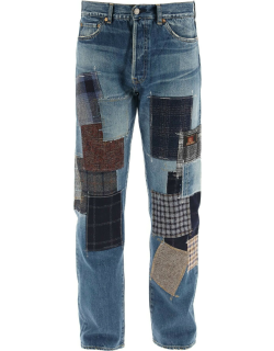 JUNYA WATANABE EYE JEANS WITH PATCHWORK S Blue Cotton