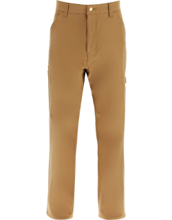 JUNYA WATANABE CROPPED TROUSERS S Brown Cotton