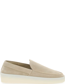 FEAR OF GOD THE LOAFER SUEDE MOCCASIN 40 Beige Leather