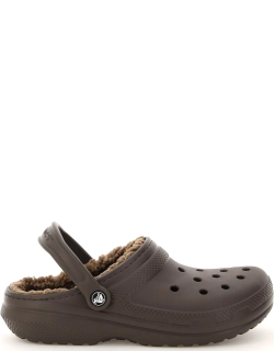 CROCS CLASSIC LINED CLOG UNISEX 7 Brown Technical