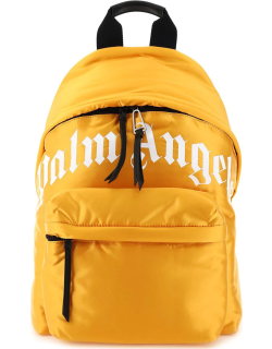 PALM ANGELS CURVED LOGO BACKPACK OS Yellow Technical
