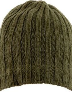 Dents Men's Lambswool Blend Knitted Hat In Sage