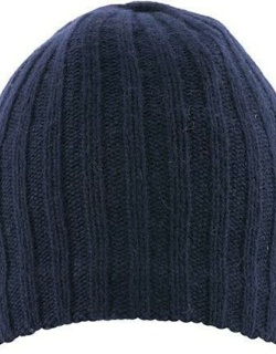 Dents Men's Lambswool Blend Knitted Hat In Navy