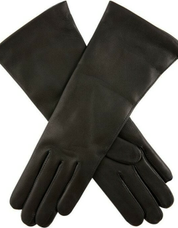 Dents Women's Cashmere Lined Leather Gloves In Black