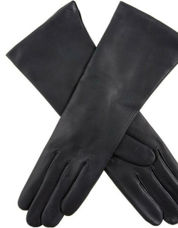 Dents Women's Cashmere Lined Leather Gloves In Navy