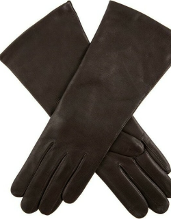 Dents Women's Cashmere Lined Leather Gloves In Mocca