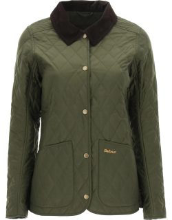BARBOUR ANNANDALE QUILTED JACKET 12 Green Technical