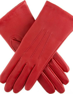 Dents Women's Classic Leather Gloves In Berry