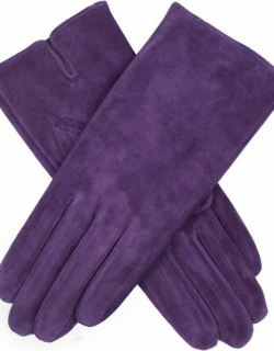 Dents Women's Suede Gloves In Thistle