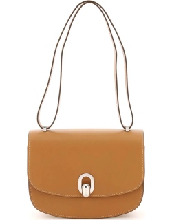 SAVETTE TONDO 22 LEATHER BAG OS Brown Leather