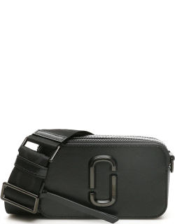 MARC JACOBS (THE) THE SNAPSHOT SMALL CAMERA BAG OS Black Leather