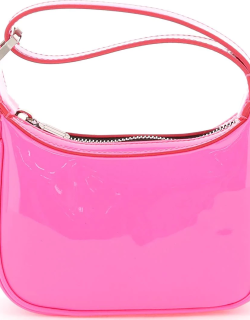 EERA MOONBAG MINI IN PATENT LEATHER OS Pink Leather