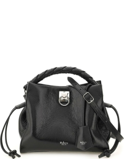 MULBERRY IRIS SMALL BAG OS Black Leather