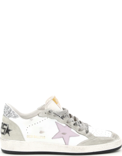 GOLDEN GOOSE BALL STAR SNEAKERS 36 White Leather